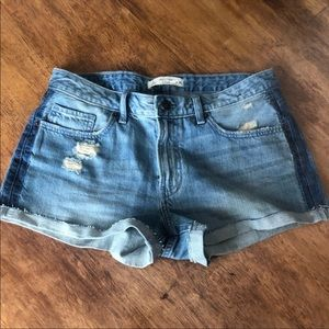 Abercrombie and Fitch distressed shorts, 4/27 NWT!